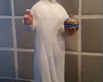 Vintage Catholic religious statue