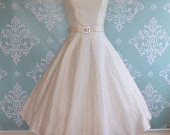 Tea Length Wedding Dress, Short Silk, Scallop, KISS ME BABY, Colors  Free Shipping!