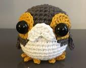 PATTERN: Baby Porg Star Wars Last Jedi Crochet Amigurumi Doll