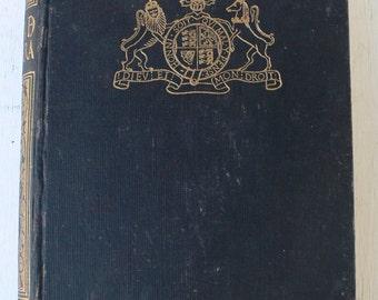 vintage book, written in Spanish, Historia de Inglaterra, History of England, 1943, from Diz Has Neat Stuff