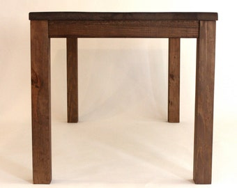 Parsons Dining Table Handmade from Reclaimed Wood