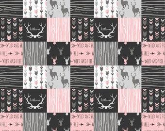 Baby quilt fabric | Etsy : nursery quilt fabric - Adamdwight.com