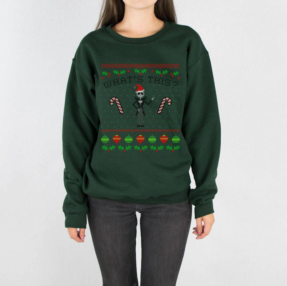 What\'s This Nightmare Before Christmas Sweatshirt