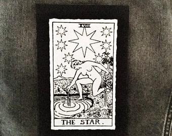 The Star Tarot Card Patch
