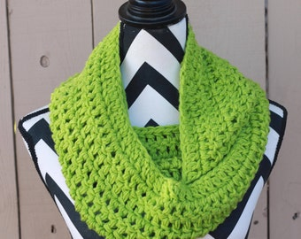 Ready to Ship Chartreuse Infinity Scarf