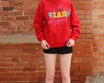 Vintage 90s The One and Only I.O.U. Legend Sweatshirt