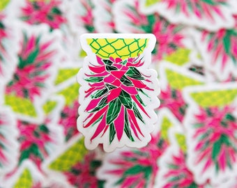 Radioactive Pineapple Sticker