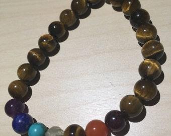 Tiger's Eye Beads Spiritual Bracelet