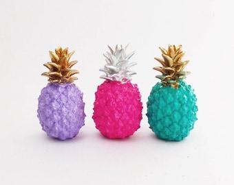 Great Pineapple, Pineapple Statue, Pineapple Decor, Pineapples, Pineapple  Homewares, Painted Pineapple,