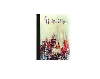 Harry Potter-HOGWARTS WATERCOLOUR Art Inspired  Faux Leather Folio/Book Case for IPad 2 IPad 3 Ipad 4 Ipad Air/Air 2 Ipad Pro 9.7 IPad 12.9