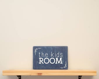 the kids room - vinyl on varnished wood (choose from a range of colours) - Kids decor