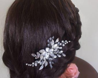 Bridal hair pin Bridal hair piece Bridal headpiece Wedding hair pin Wedding headpiece Wedding hair piece Bridal hair accessories