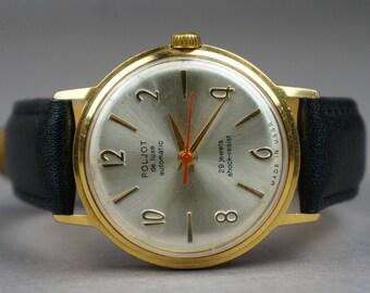 Soviet watch,Poljot De luxe, USSR watch, men's watch, watch, Poljot, mechanical watch, made USSR, Poljot watch, men's watch USSR