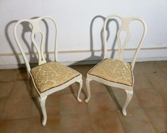 Pair of armchairs fine 800 vintage chairs