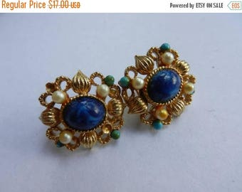 Summer Sale Vintage Costume Jewelry Clip On Earrings