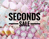 SECONDS SALE! - Enamel Pin, hard enamel, enamel pins, pin badge, second pins, b grade, little lefty lou