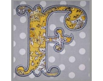 "Formal Applique Monogram with Bean Stitch 3"" 3.5"" 4"" - 11 Formats - Machine Embroidery Fonts Applique Monogram Font - Instant Download Files"