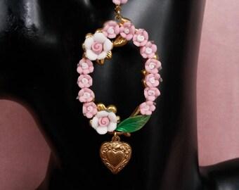 """Collection """"La Rosière"""" earrings N ° 6"""