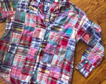 90s Patchwork Shirt