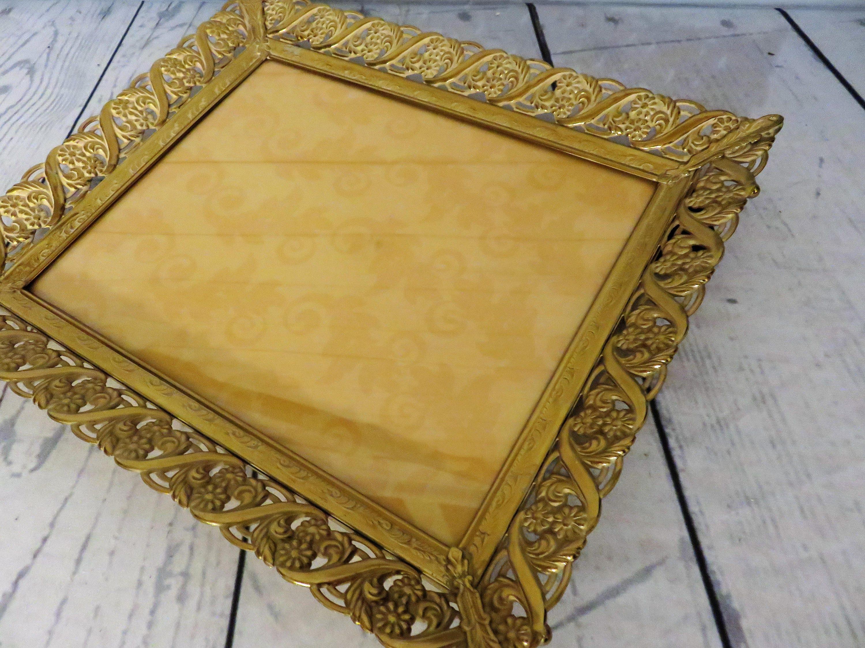 Ornate Gold 8 x 10 Frame, Decorative Gold Picture Frame, Vintage ...