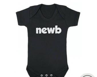 10% OFF SALE Newborn baby bodysuit, funny newborn bodysuit, funny baby shower gift, funny gift for newborn baby, baby boy onesie, baby girl
