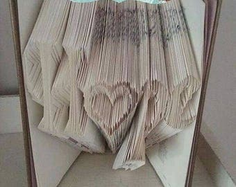 Sale Sale Sale Hope - With Heart As The O - Book Folding Pattern