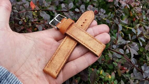 Genuine Leather - Handmade Watch Strap 04