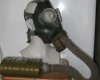 Vintage Soviet Gas Mask.