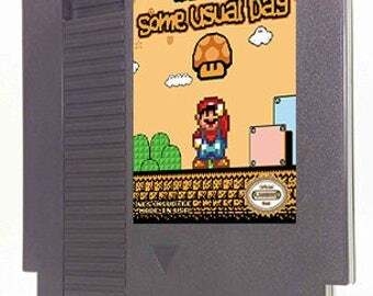 "Mario in ""Some Usual Day"""