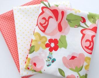 1 Yard Bundle Hello Gorgeous by My Minds Eye For Riley Blake Designs - 3 Fabrics