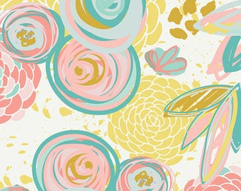 1 Yard Reverie Fusions by AGF Studio - Sprayed Blooms Reverie 800