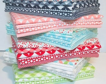 1 Yard Bundle Options Bonnie and Camille Basics by Moda