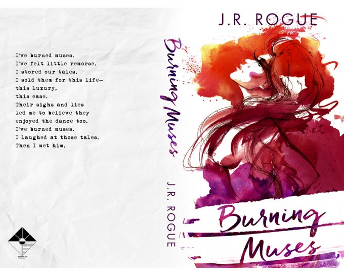 Featured listing image: Burning Muses Signed Paperback