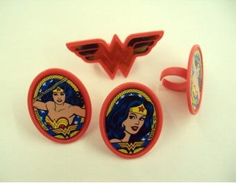 Wonder Woman Rings