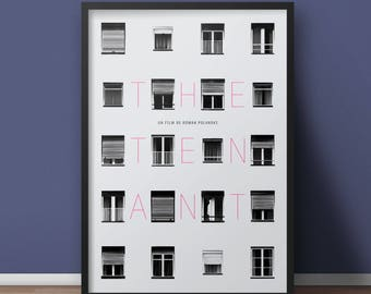 The Tenant Art Print - Alternative Movie Poster - Polanski