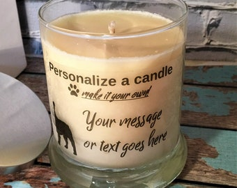 Pet Lover Candle,  Dog lover Candles, Pet Candles, Dog Candles, Dog Breeds, Pet Lover Gift, Custom Dog Gifts, Personalized Candles