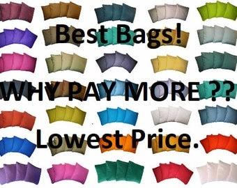 HUGE SALE Cornhole Bags Regulation Size & Weight Money Back Guarantee No Break Bags shipped within 24 hours