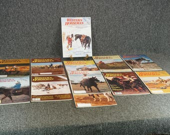 Western Horseman Magazine 1980 All 12 Issues