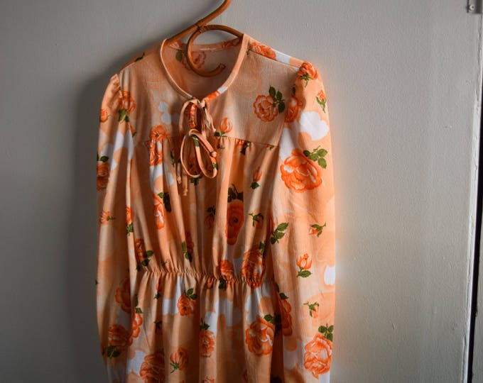 70's rose long sleeve.