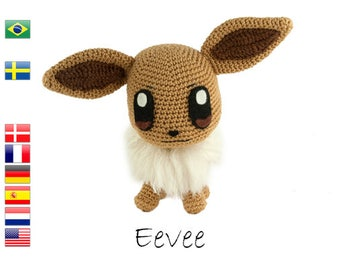 Crochet pattern Eevee (Pokemon)