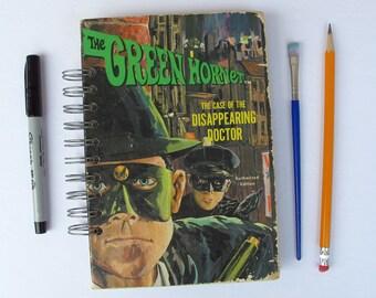 The Green Hornet vintage book journal