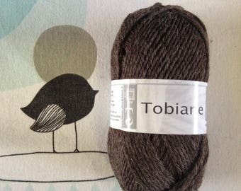 WOOL TOBIANE brown-white horse