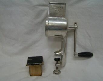 Alexander Werk Meat Nut Grinder Cart Iron Germany #1104M Like New! AlexanderWerk