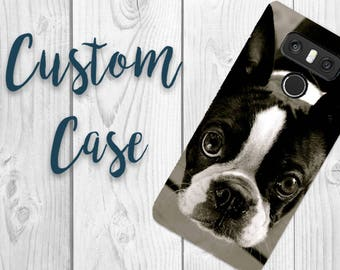 Lg G6 Case #Custom Photo Case, Design Your Own Personalized Case, Monogrammed Phone