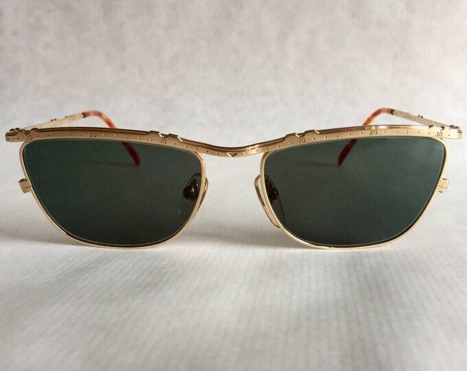 22kt Gold JUNIOR GAULTIER 57 - 3174 Vintage Sunglasses New Unworn Deadstock