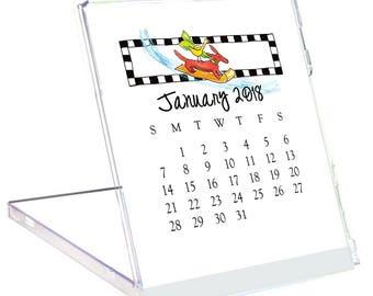 2018 Desk Calendar by Rose Street Design