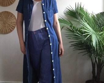 90's Denim Jacket Dress