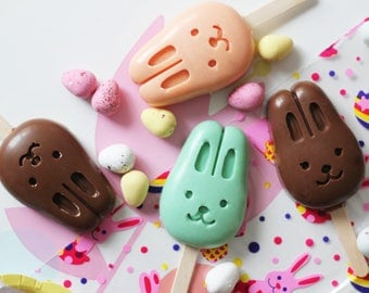 Bunny Lollies (set of 4)