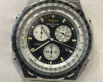 Breitling Navitimer Jupiter Pilot ref 80975 Chronograph Gents' Wristwatch, circa 1991. Box + Papers.