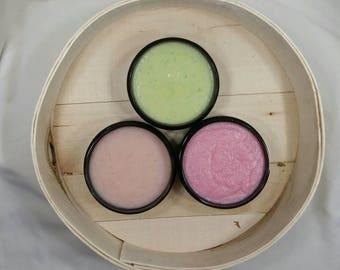 Elizabeth Kim Collection Sugar Scrub / 3 pack / 8 oz / Sugar Scrub / Exfoliating / Lather Up Naturally